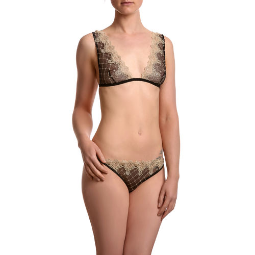 Lingerie Set - Noir D'or