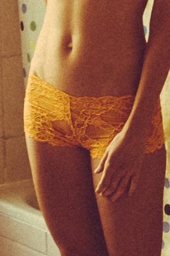 Jaffa Orange - Hot Pants