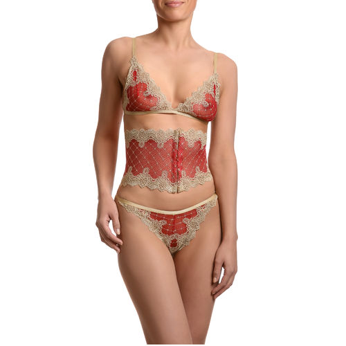 Lingerie Set - Rouge D'or