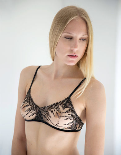 Black Illusion - Bra