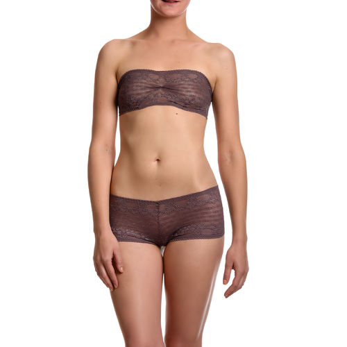 Metallic gerafft - Dessous Set
